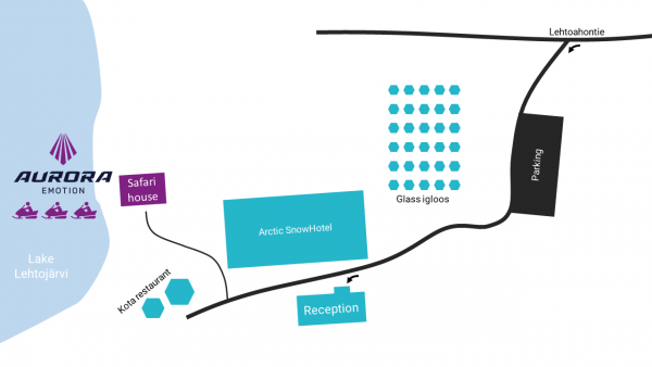 Map of Safari Venue