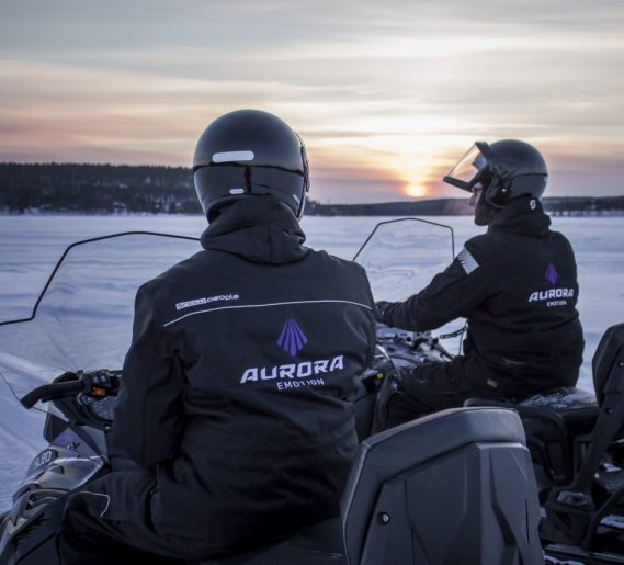 Silent Electric Snowmobile - eSled Safaris and Excursions in